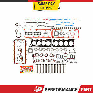 Full Gasket Set Head Bolts for 02-11 Ford Explorer Crown Victoria Lincoln 4.6