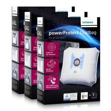 Siemens Staubsaugerbeutel powerProtect VZ41FGALL - Typ G ALL (3er Pack)