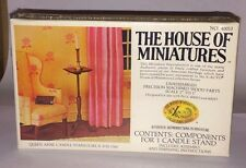 1/12 Queen Anne Candle Stand #40013 The House Of Miniatures Already Built