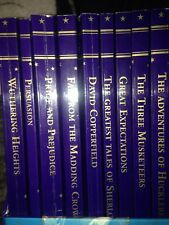Children's Classics Books Set Of 9, Withering Heights Bronte, Dickens GC