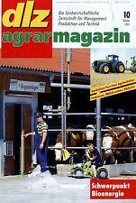 dlz 10 01 2001 John Deere 8020 New Holland TM165 Valtra S 230 Fruchtfolgeplanung