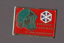 Pin's pompier / sapeurs pompiers de Saint Bon Courchevel