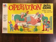 Vintage Games 1965 OPERATION Milton Bradley Smoking Doctor, Factory Sealed!