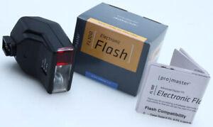 Promaster FL100 TTL Flash Sony DSLR Minolta 'i' Shoe  Flash IB 283448 55 279579