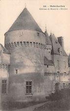 BR72617 malesherbes chateau de rouville donjon   france