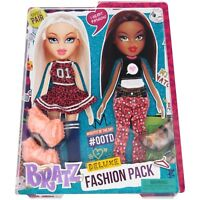 2 Bratz Doll Deluxe Fashion Pack Dolls Yasmin Cloe New Girls Toy Toys Kids Set