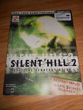 Silent Hill 2 Official Strategy Guide - Brady Games - Classic PS2 Konami LOT