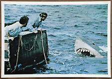 Jaws Rare Vintage Movie Poster Photo Print from 1975 Measures 15in by 21 1/2in