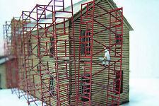 Scaffolding N Scale Model Railroad Structure Unptd Laser Kit Rsl3513