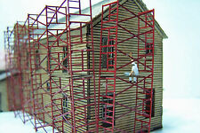 SCAFFOLDING N Scale Model Railroad Structure Unpainted Wood Laser Kit RSL3513