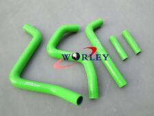 For Kawasaki KX250 1994-2002 95 96 97 98 99 00 silicone radiator hose green