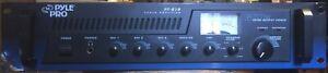 Pyle Pro PT-610 600-Watt 5-Channel Power Amplifier PT610--SOLD AS IS