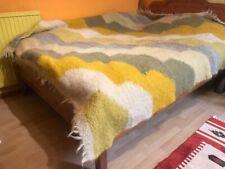 Handmade Sheep Wool Blanket/Throw/Rug/Ethnic/Handwoven bedspread/Lizhnyk