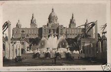 ANTIGUA POSTAL BARCELONA EXPOSICION INTERNACIONAL 1929 POSTCARD          CC00604