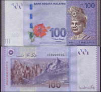 Malaysia 100 Ringgit. UNZ ND (2012) Banknote Kat# P.55a