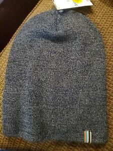 Smartwool Men's Cozy Cabin Hat Deep Navy One Size NWT $32