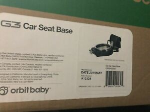 Brand NEW Orbit Baby G3 Black Car Seat Base Factory Sealed in BOX