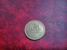Moneda 20 dirham Marruecos 1974