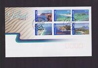 Australia 2007 Island Jewels FDC inc International Stamps J-431
