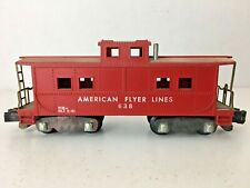 "*AMERICAN FLYER 638* ""CABOOSE"""