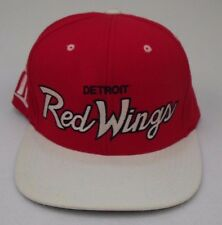 Detroit Red Wings NHL Snap-back by Mitchell and Ness Embroidered Logo