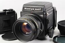 [Exc+++++] Mamiya RB67 Pro SD w/ K/L 127mm f/3.5 Film Back x2 From Japan #00065