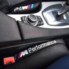 2x Car Leather Seat Gap Filler Soft Pad Stop Holster Blocker For BMW E60 E90 E39
