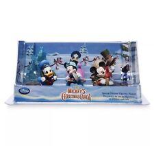 New Shop Disney Store Mickey's Christmas Carol Special Edition Figurine Playset