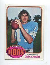 1976 Topps #286 Greg Landry Detroit Lions