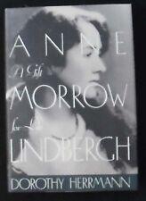 Anne Morrow Lindbergh: A Gift for Life Herrmann HB/DJ 1st ed. 1st print FINE
