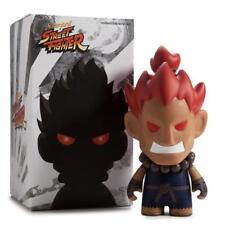 Kidrobot Street Fighter Akuma 7 Inch Vinyl Figure Collectibles Art Toys