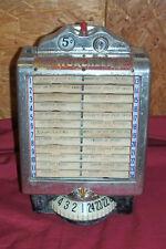 Old Wurlitzer Jukebox Remote Wall Box Mount Model 3031 Vintage Diner Wallbox No