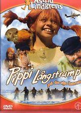 DVD Pippi Langstrumpf SCHWEDISCH Astrid Lindgren Långstrump på de sju haven