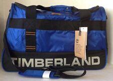"Timberland Jay Peak Trail 22"" Duffel Blue/Black/Ginger NWT MSRP $260"