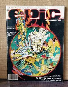 Epic Illustrated #14 (October 1982) - Marvel Magazine Fantasy & Sci Fi -Nice