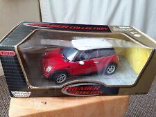 Motor Max 1/18 2001 Mini Cooper in Red Premier Collection 73100 New in Box