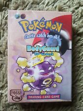 New Sealed Pokemon Bodyguard Theme Deck Trading Card Game Fossil Rare...