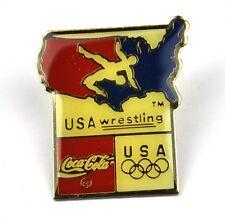 Coca Cola Coke USA Solapa Pin Botón Divisa Pin de solapa - Wrestling