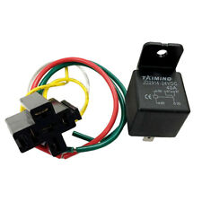 24V DC 40Amp 5Pin SPDT Automotive Relay Harness Set with  Socket