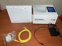 ROUTER FIBRA TIM ADSL SERCOMM SMART MODEM AG COMBO WIRELESS COME NUOVO - 2