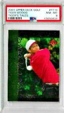 2001 Upper Deck Golf Tiger Woods #TT10 PSA 8