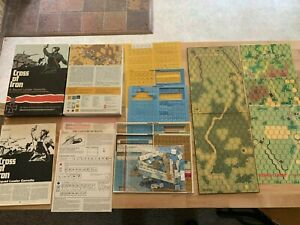 Cross of Iron Avalon Hill Squad Leader Gamette Third Ed. - Partially Unpunched