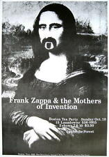 """Frank tsappa Poster """"Mona Lisa"""""""