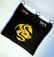 Wing Chun, Canvas Wall Mounted Punch Bag 1 Section  GOLDEN DRAGON