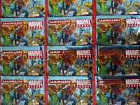 MARVEL HEROES LAMINCARDS 20 BUSTINE DA 5 FIGURINE NUOVO SIGILLATO