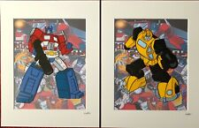 Transformers - Autobots Collection - Hand Drawn & Hand Painted Cel