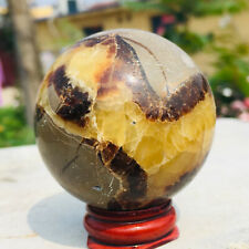 210G Natural dragon septarian spherequartz crystal ball healing