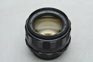 [ALMOST MINT 8 elements] Asahi Pentax Super Takumar 50mm f1.4 M42 Lens JAPAN