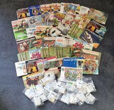 More details for huge collection of brooke bond pg tips tea card albums+ loose cards part sets