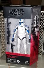 Star Wars Black Series Clone Trooper Lieutenant Walgreens exclusive